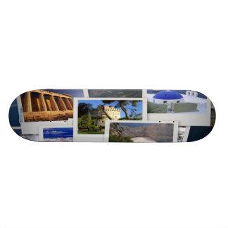 Greek Places Skate Board Deck