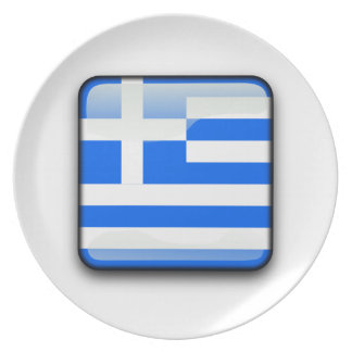 Greek polished flag plate