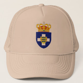 Greek Prince Arms, Greece Trucker Hat