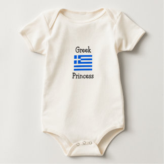 Greek Princess Baby Bodysuit