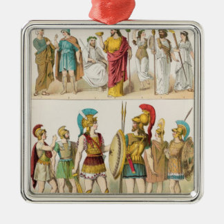Greek Religious and Military Dress Christmas Ornament