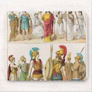 Greek Religious and Military Dress Mouse Pad