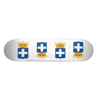 Greek Royal Arms, Greece Skate Deck
