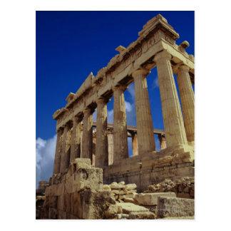 Greek ruins, Acropolis, Greece Postcard