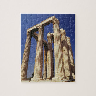 Greek ruins, Athens, Greece Jigsaw Puzzle