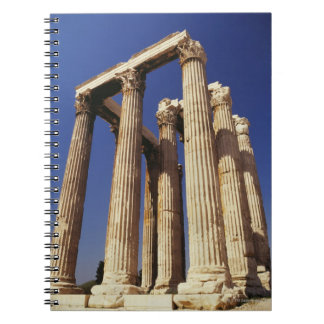 Greek ruins, Athens, Greece Spiral Notebook