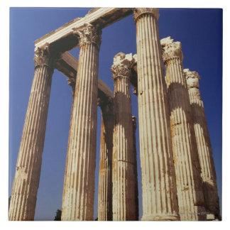 Greek ruins, Athens, Greece Tile