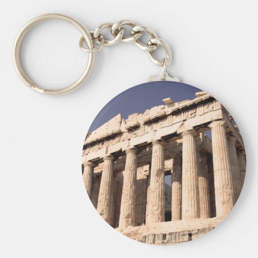 Greek Ruins Key Chains