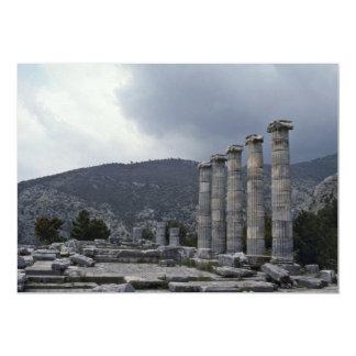 Greek Sculptures 13 Cm X 18 Cm Invitation Card