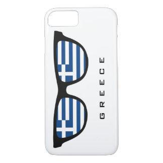 Greek Shades custom text & color cases