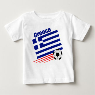 Greek Soccer Team Baby T-Shirt