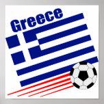 Greek Soccer Team Posters