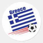 Greek Soccer Team Stickers