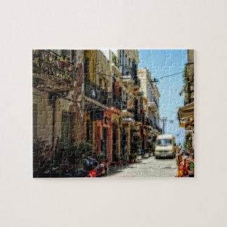 Greek street puzzles