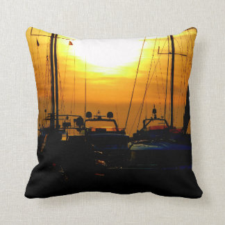 Greek sunset. cushion