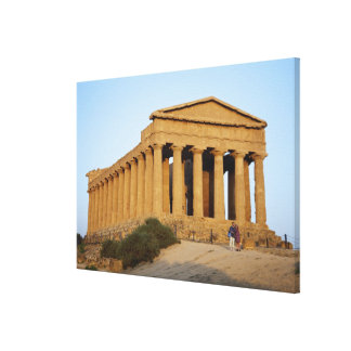 Greek Temple Canvas Print