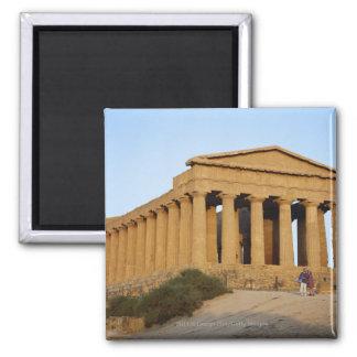 Greek Temple Fridge Magnet