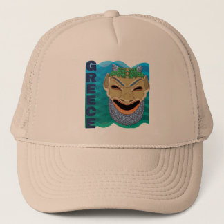 Greek theatre MASK Trucker Hat