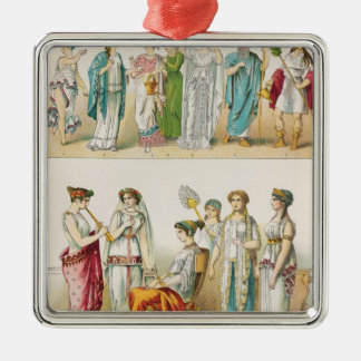 Greek Theatrical Dress Christmas Ornament