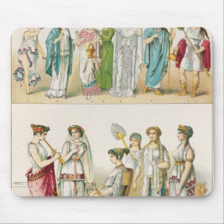 Greek Theatrical Dress Mouse Mat
