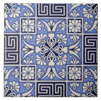 Greek Tile c1885 Vintage Mintons Design