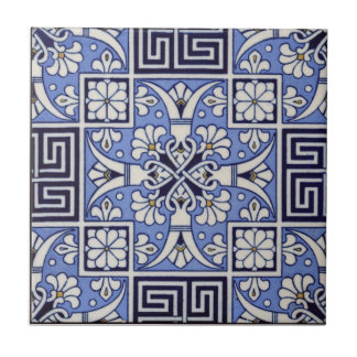 Greek Tile c1885 Vintage Mintons Design