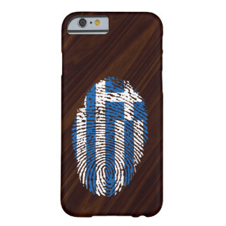 Greek touch fingerprint flag barely there iPhone 6 case