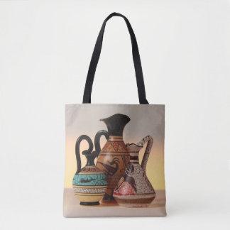 Greek Vases Tote Bag