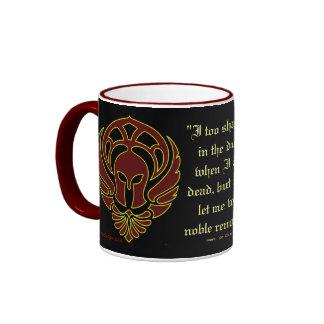 Greek Warrior s Mug