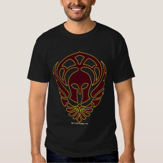 Greek Warrior T-shirt with Iliad Quote