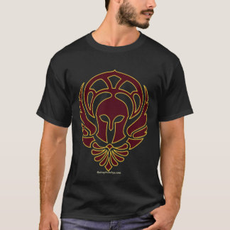 Greek Warrior T-shirt with Iliad Quote