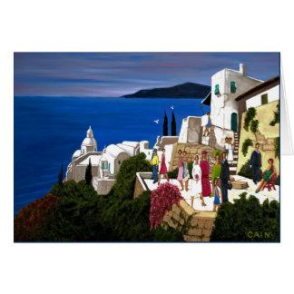 GREEK WEDDING. CARD