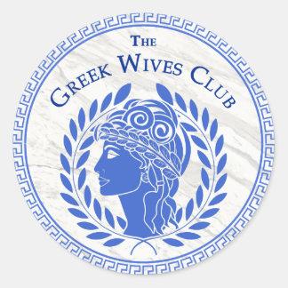 Greek Wives Club Sticker