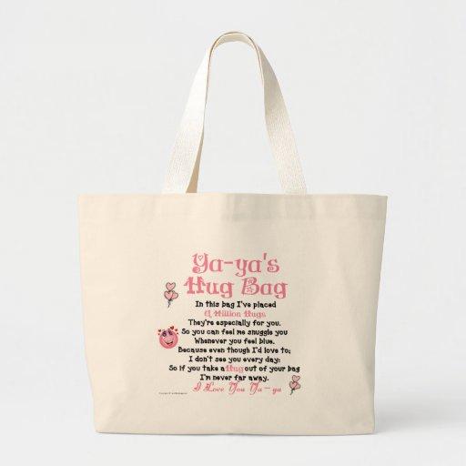 Greek  - Ya-ya -  Single Verse Tote Bag