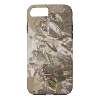 Greeks and Trojans Fight over the Body of Patroclu iPhone 7 Case
