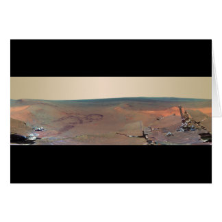 Greeley Haven Panorama Mars Rover Opportunity Greeting Card