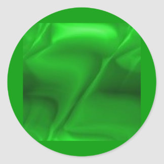 green097 round sticker