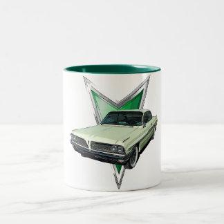 Green 1961 Ventura Bubble Top Two-Tone Mug