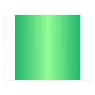 Green 1 - Mint Green and Shamrock Green Gradient Postcard