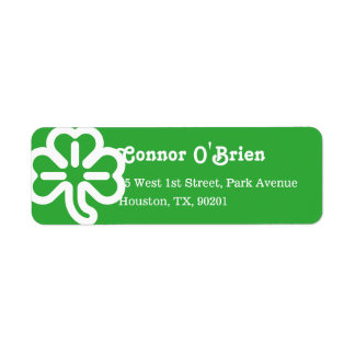 Green 3 Leaf Shamrock Clover Irish St Patricks Day