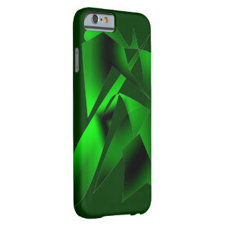 Green Abstract Art on iPhone 6 case