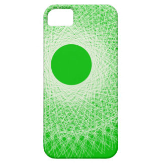 green abstract art will blow your mind iPhone 5 covers