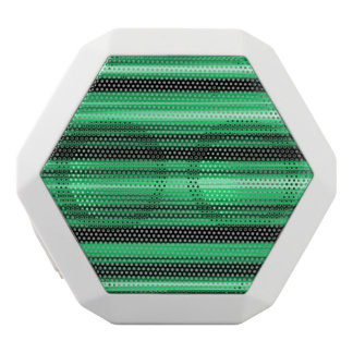 Green Abstract White Boombot Rex Bluetooth Speaker