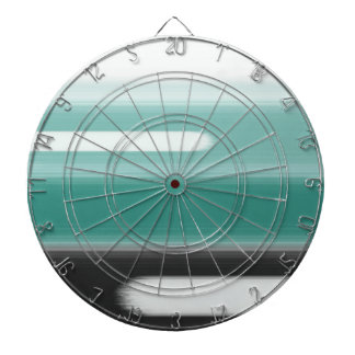 Green Abstract Dartboard