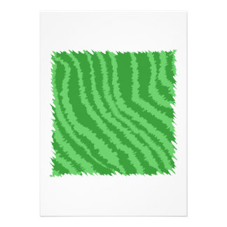 Green Abstract Design. Announcements