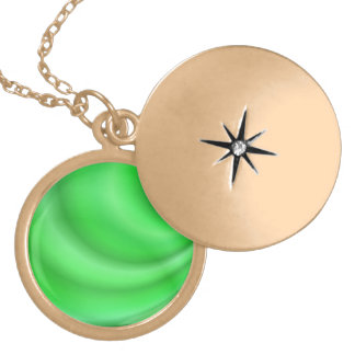 Green abstract design pendants