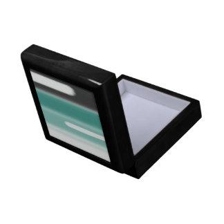 Green Abstract Gift Box