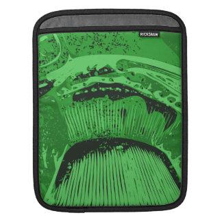 Green Abstract. iPad Sleeve