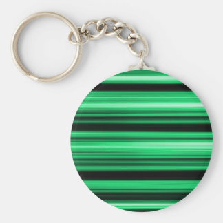 Green Abstract Keychain