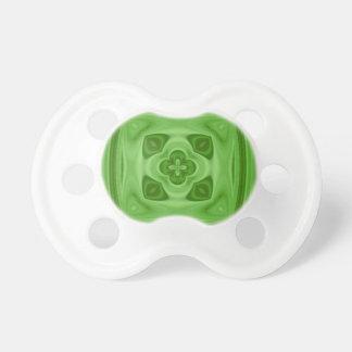 Green abstract modern pacifier